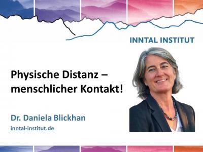 Video Daniela Blickhan social distancing corona